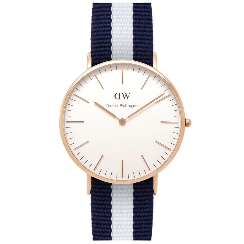 Men's Classic Glasgow Watch in Rose Gold by Daniel Wellington
