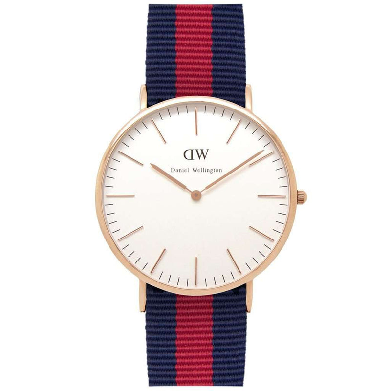 Men's Classic Oxford Watch in Rose Gold by Daniel Wellington
