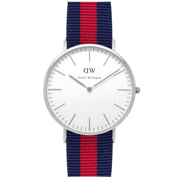 Men's Watches - Men's Classic Oxford Watch In Silver By Daniel Wellington
