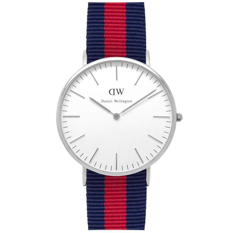 Men's Classic Oxford Watch in Silver by Daniel Wellington