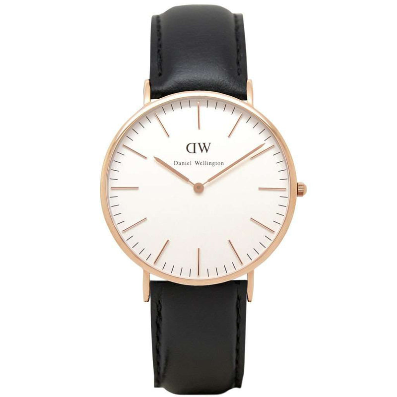 Men's Watches - Men's Classic Sheffield Watch In Rose Gold By Daniel Wellington