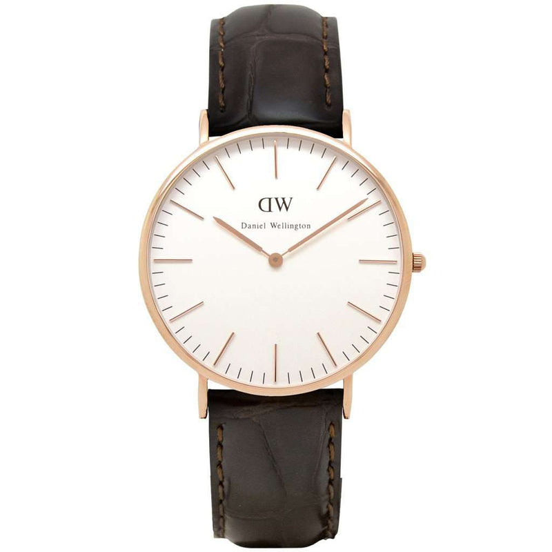 Men's Watches - Men's Classic York Watch In Rose Gold By Daniel Wellington