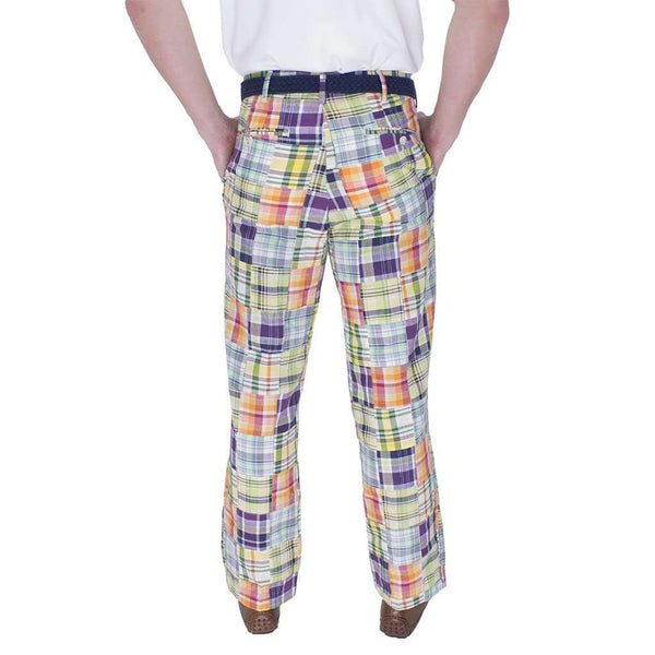 Money Rider Madras Pants by Country Club Prep - FINAL SALE