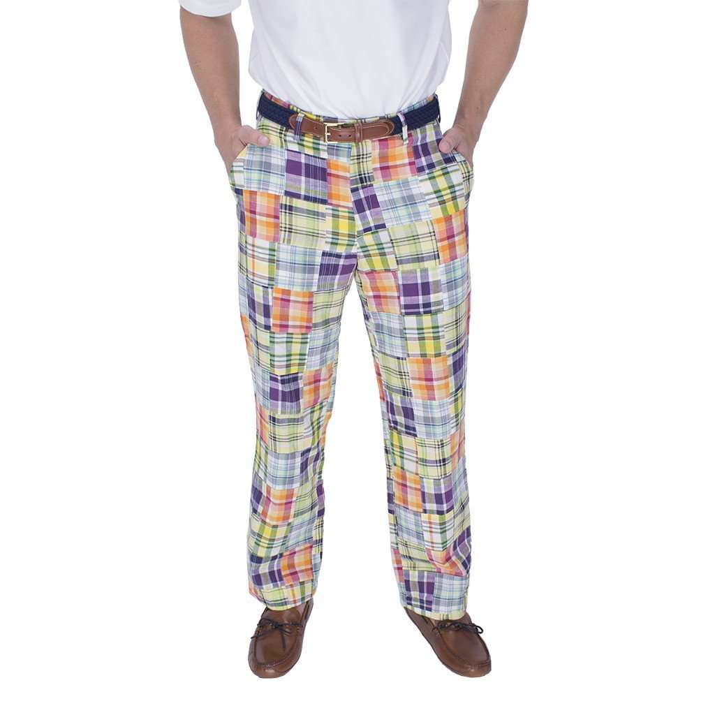 Money Rider Madras Pants by Country Club Prep  - 1
