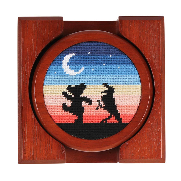 Grateful Dead Moondance Needlepoint Coasters by Smathers & Branson