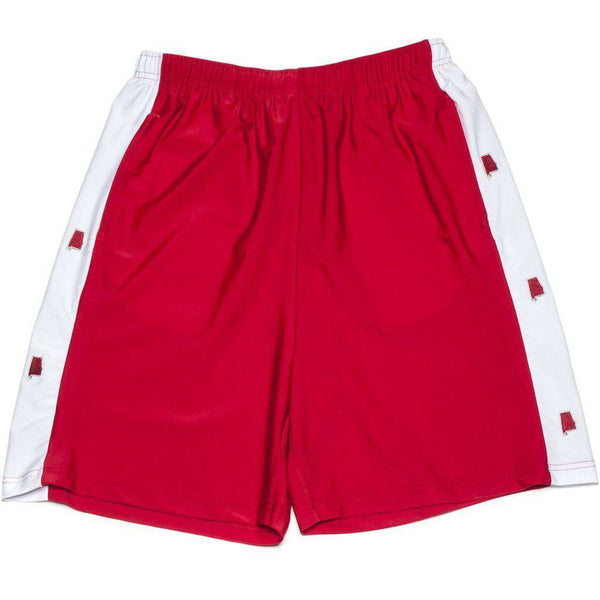 Tuscaloosa Shorts in Crimson by Krass & Co  - 1