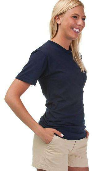 Nautical Flag Tee Shirt in Navy by Anchored Style - FINAL SALE