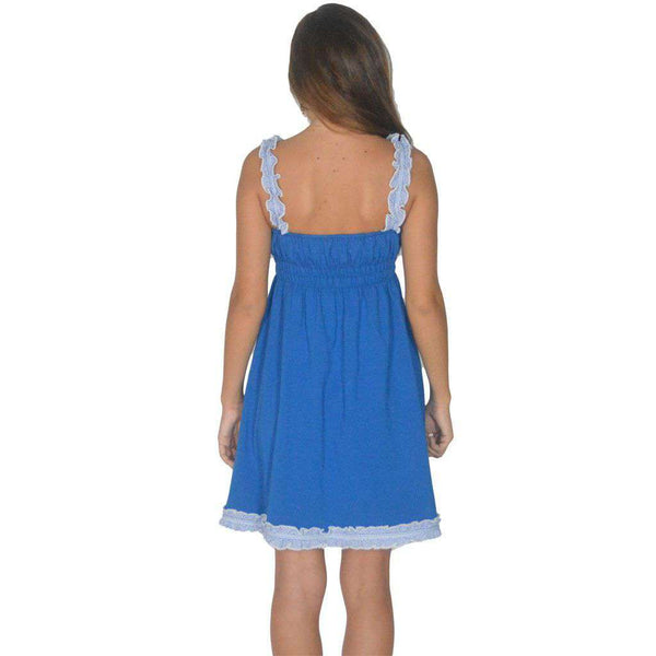 The Mackenzie Dress in Royal Blue by Lauren James  - 2