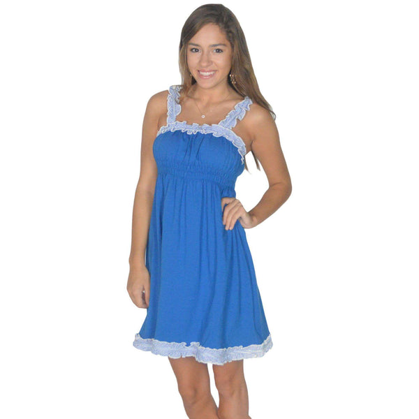 The Mackenzie Dress in Royal Blue by Lauren James  - 1