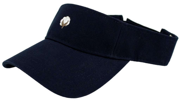The Boll Visor in Navy by Cotton Brothers