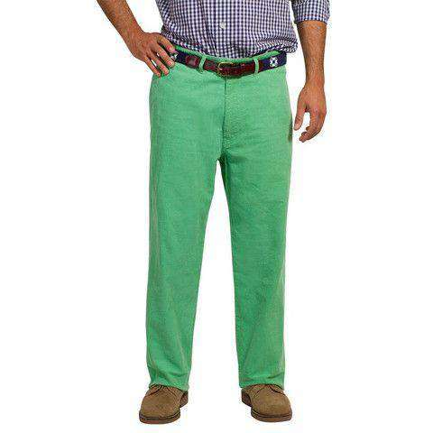 Mariner Pants in Caribbean Corduroy Palm Frond by Castaway Clothing