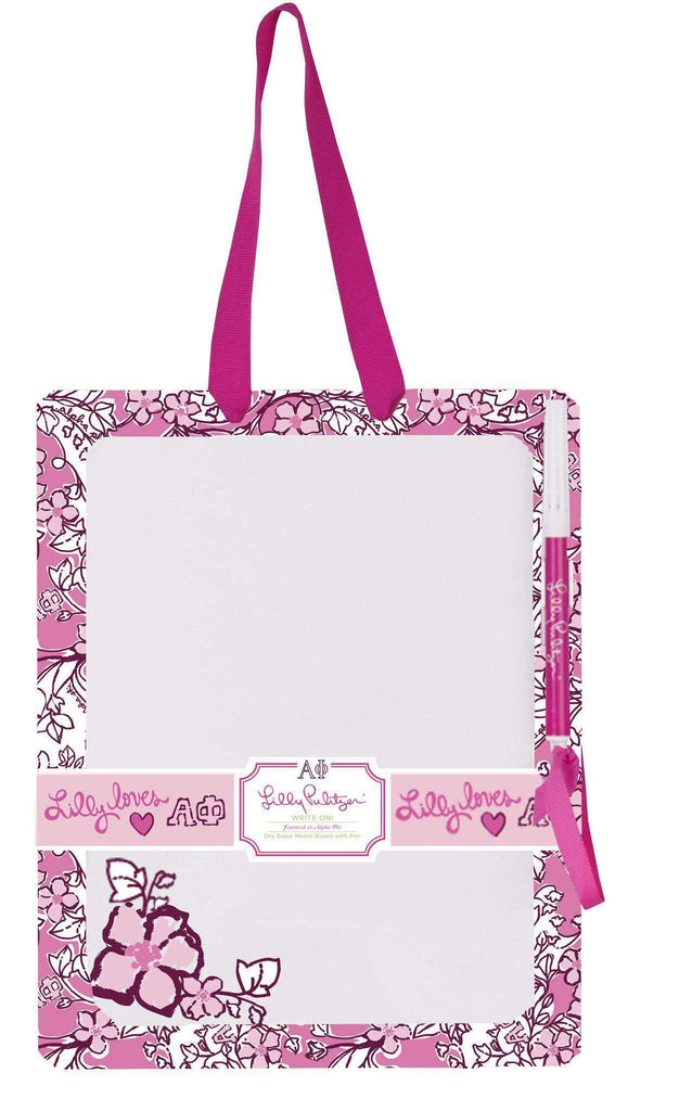 Alpha Phi Dry Erase Board by Lilly Pulitzer