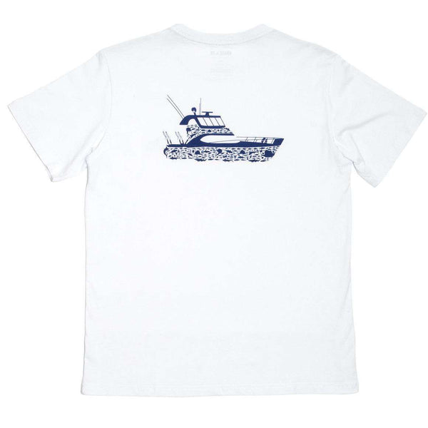 Ultimate Catch Tee Shirt in White by Krass & Co.