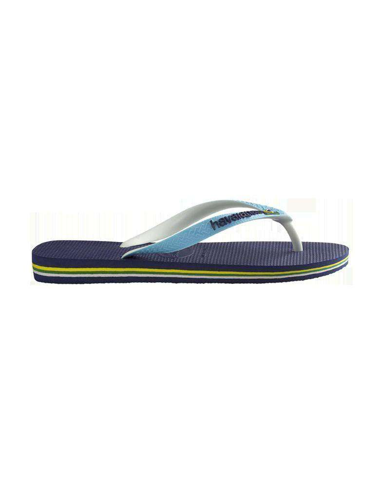 Brazil Mix Sandals in Navy Blue by Havaianas  - 1