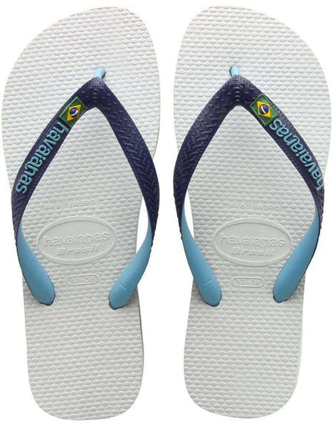 Brazil Mix Sandals in White by Havaianas  - 1