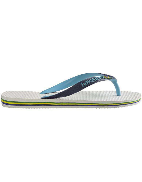 Men's Brazil Mix Sandals in White by Havaianas- OLD - FINAL SALE