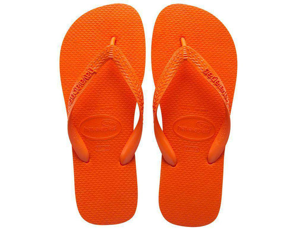 Top Sandals in Tangerine by Havaianas  - 1