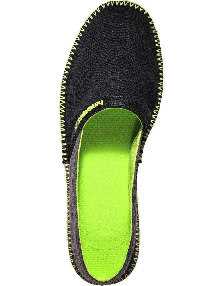 Origine Espadrilles in Black and Dark Grey by Havaianas  - 1