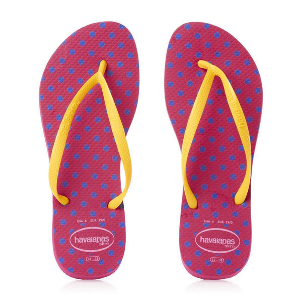 Slim Fresh Sandals in Fuchsia by Havaianas  - 1