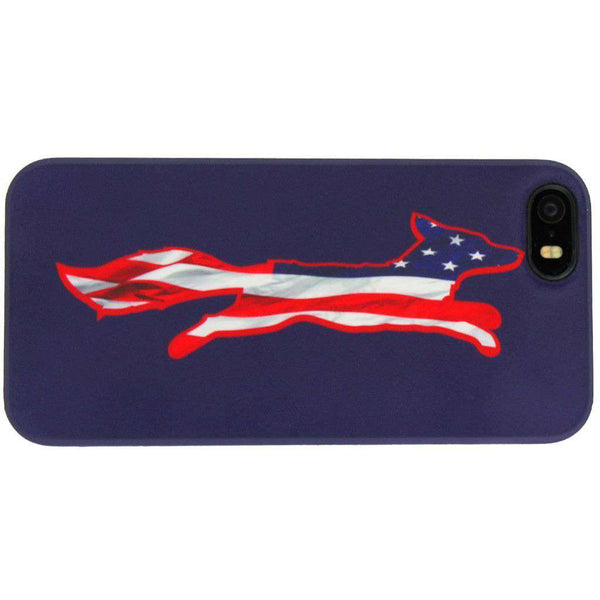 iPhone 5/5s Cover in Patriotic Navy by Country Club Prep - FINAL SALE