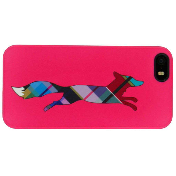 iPhone 5/5s Cover in Pink Plaid by Country Club Prep