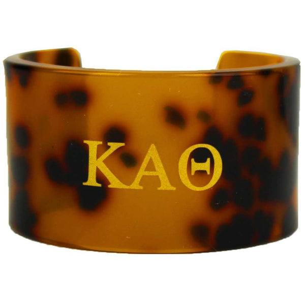 Kappa Alpha Theta Tortoise Cuff Bracelet by Fornash - FINAL SALE