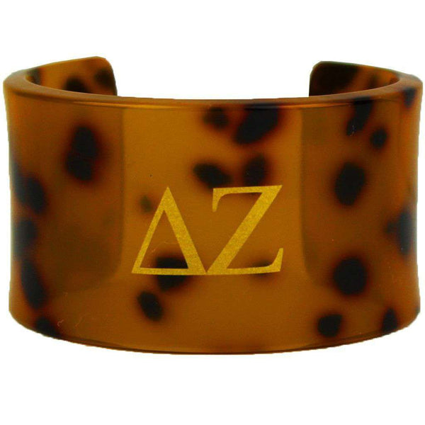 Delta Zeta Tortoise Cuff Bracelet by Fornash - FINAL SALE