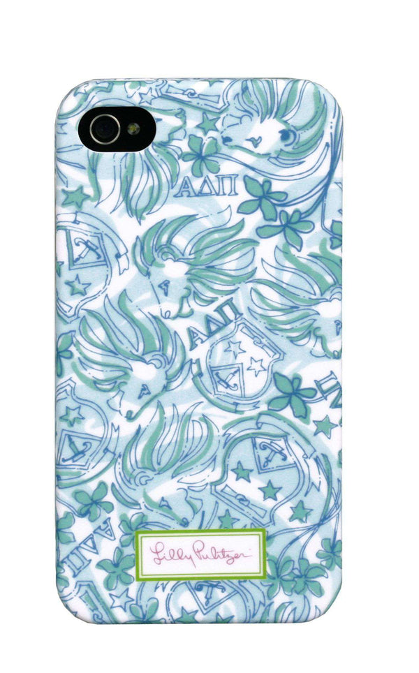 Alpha Delta Pi iPhone 4/4s Cover by Lilly Pulitzer