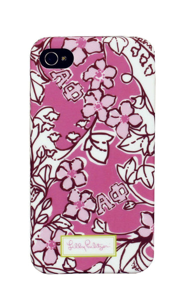 Alpha Phi iPhone 4/4s Cover by Lilly Pulitzer