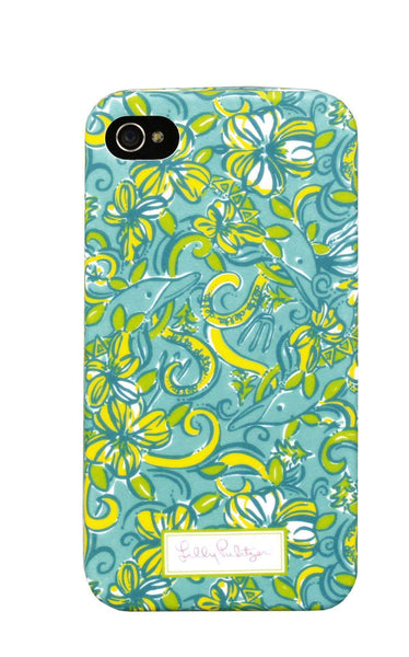 Delta Delta Delta iPhone 4/4s Cover by Lilly Pulitzer