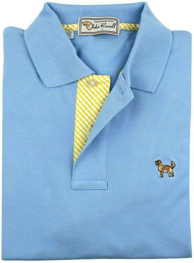 The Golden Polo in Blue by John Russell  - 1