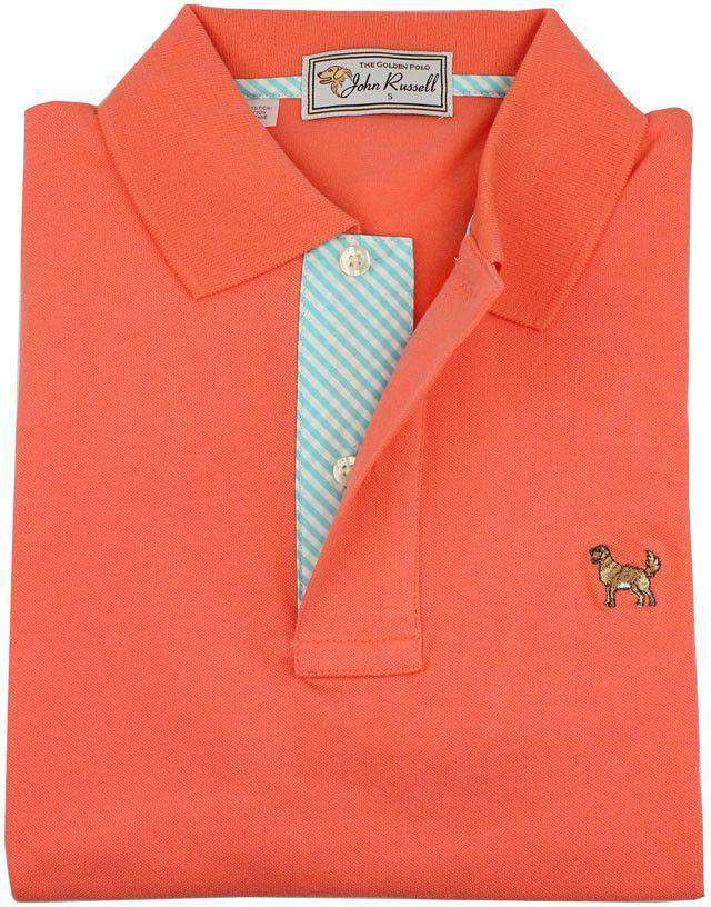 The Golden Polo in Orange by John Russell  - 1