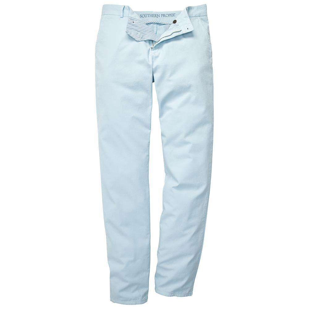 The Campus Pant in Light Blue by Southern Proper