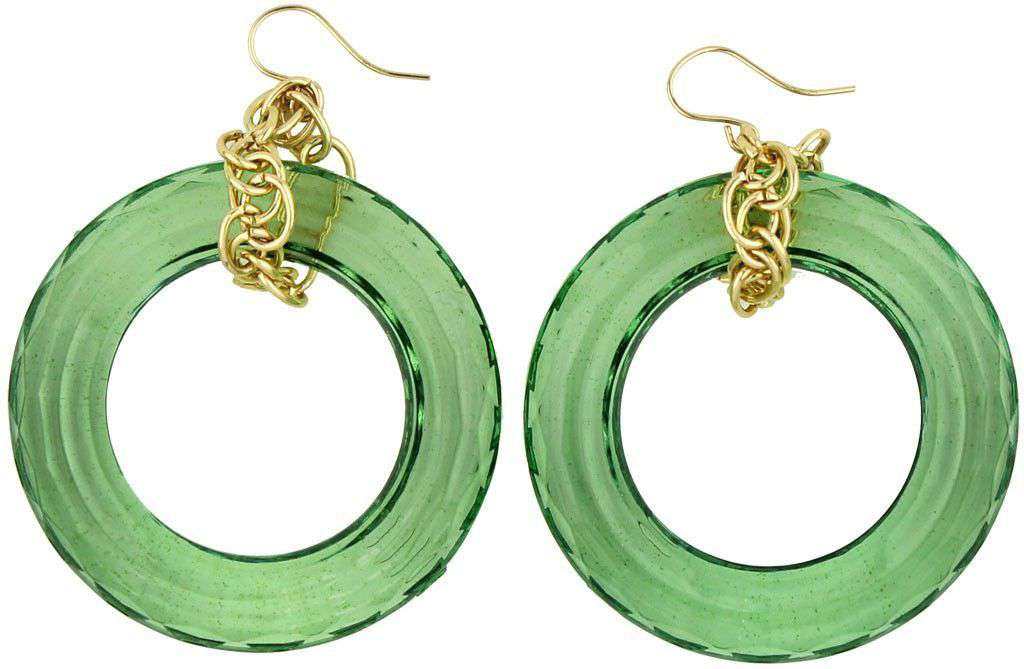 Winston Earring in Mint by Moon and Lola