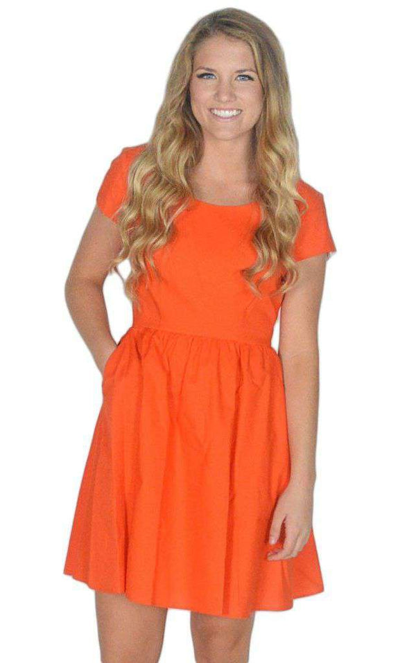 The Sheridan Dress in Orange by Lauren James  - 1