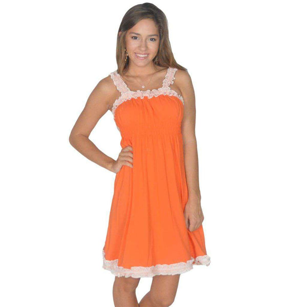 The Mackenzie Dress in Orange by Lauren James  - 1