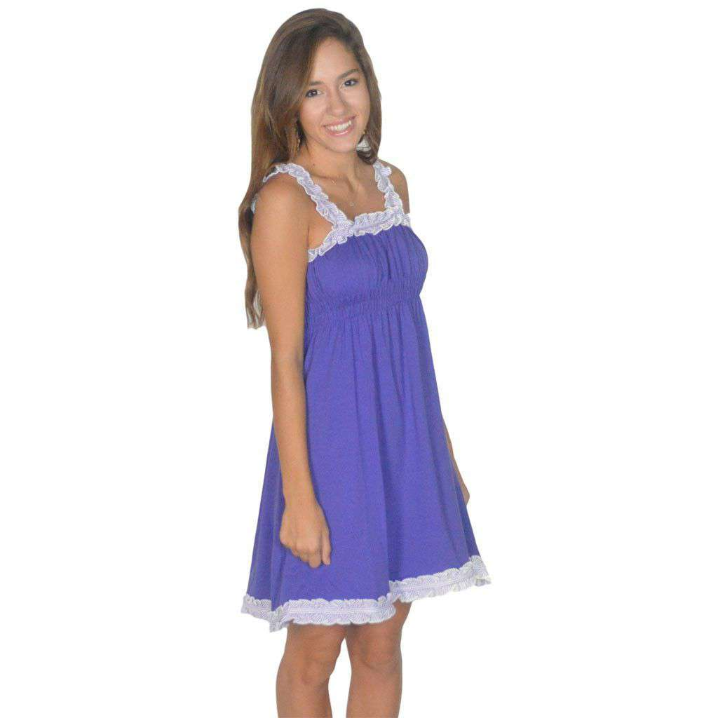 The Mackenzie Dress in Purple by Lauren James  - 1