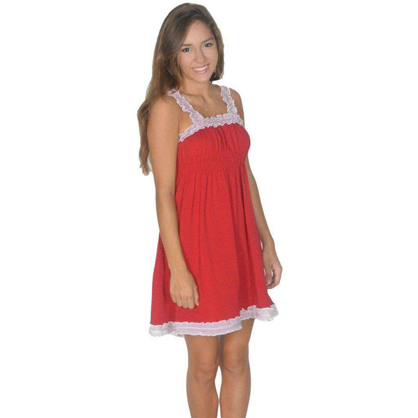 The Mackenzie Dress in Red by Lauren James  - 1