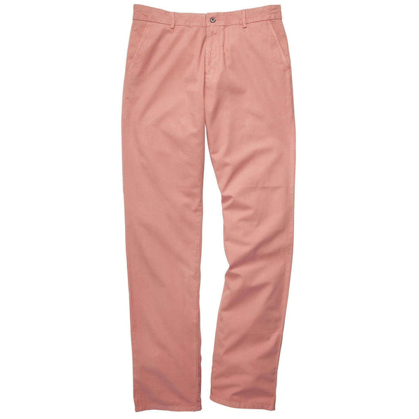 The Campus Pant in Washed Red by Southern Proper  - 1