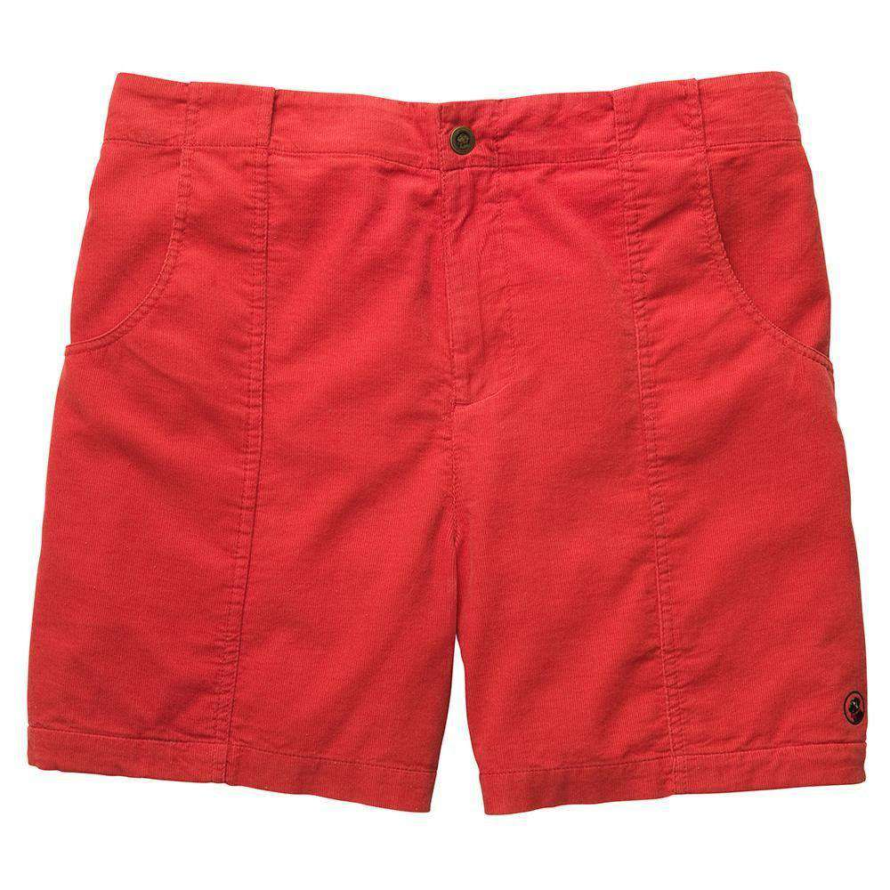 The Atlantic Short in Red by Southern Proper  - 1