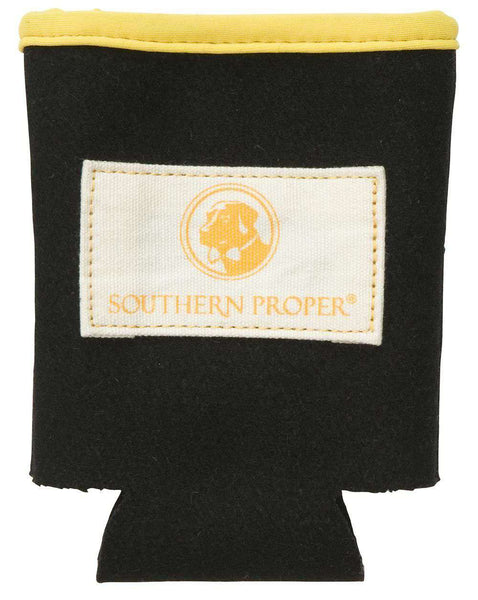 Beer Sweater Can Holder in Black by Southern Proper