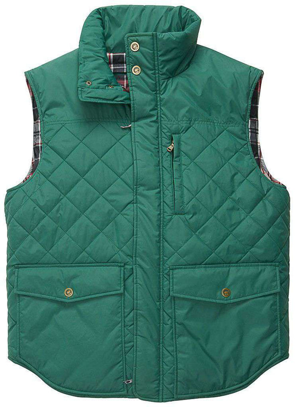 Varsity Vest in Hunter Green by Southern Proper - FINAL SALE