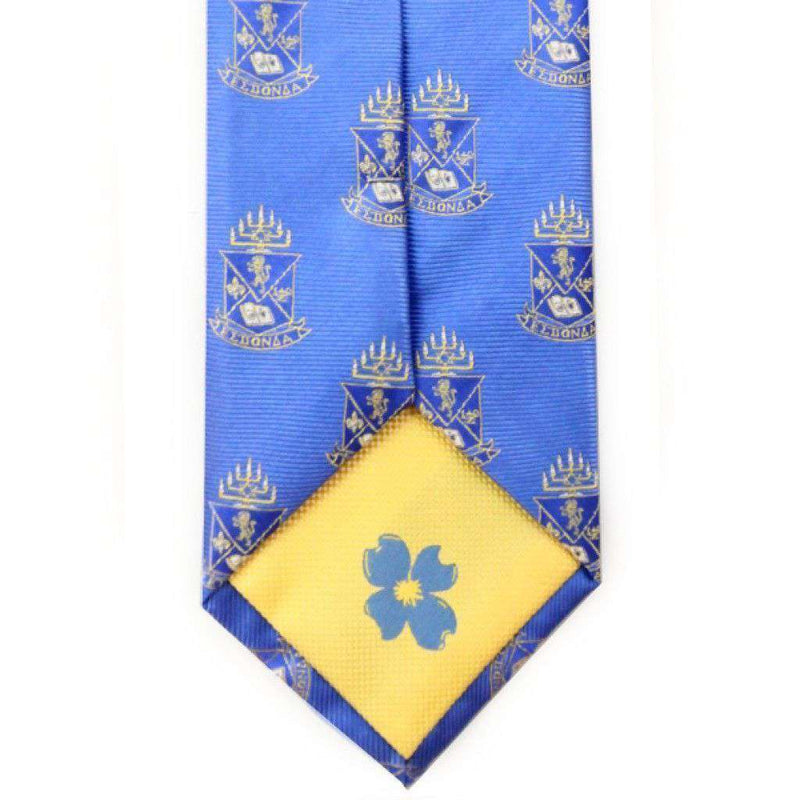Alpha Epsilon Pi Neck Tie in Blue by Dogwood Black