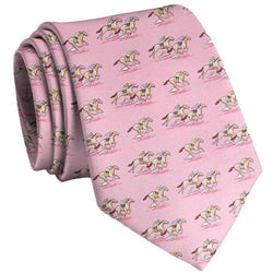 Neck Ties - And They're Off Neck Tie In Pink By Bird Dog Bay