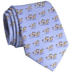 Neck Ties - And They're Off Tie In Blue By Bird Dog Bay - FINAL SALE