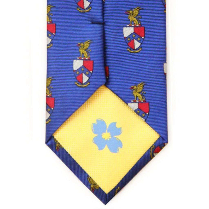 Beta Theta Pi Neck Tie in Blue by Dogwood Black
