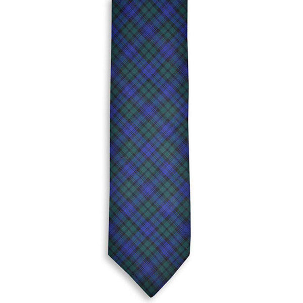 Black Watch Neck Tie by High Cotton
