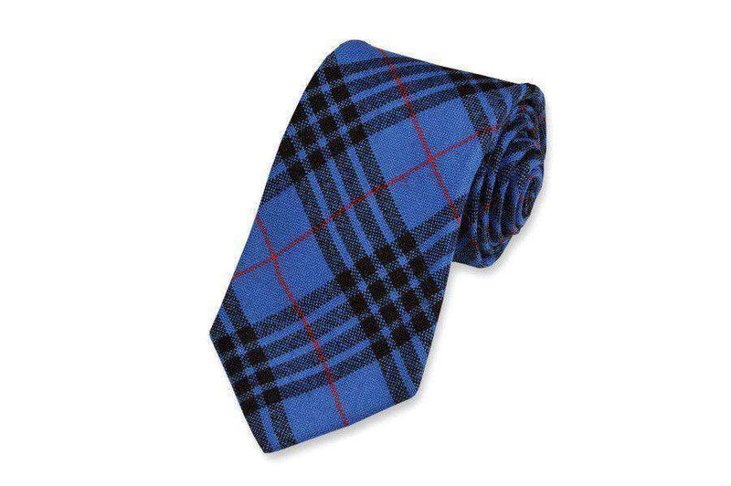 Neck Ties - Boon Plaid Necktie By High Cotton