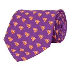 Neck Ties - Clemson Gameday Tie In Purple By State Traditions And Southern Proper