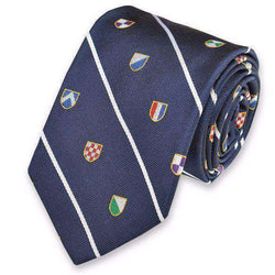 Club Master Neck Tie in Navy by High Cotton